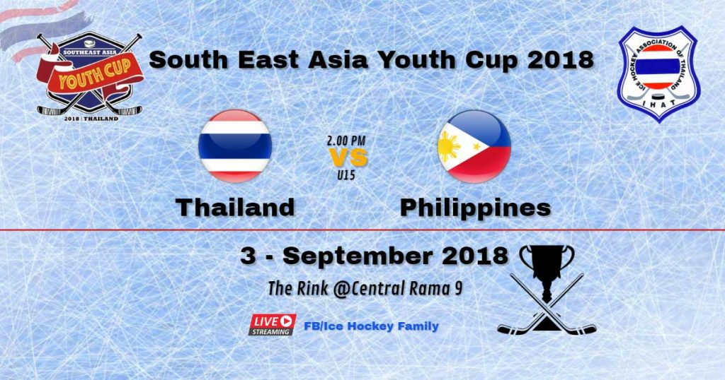 South East Asia Youth Cup 2018   Thailand Vs ️Philippines U15