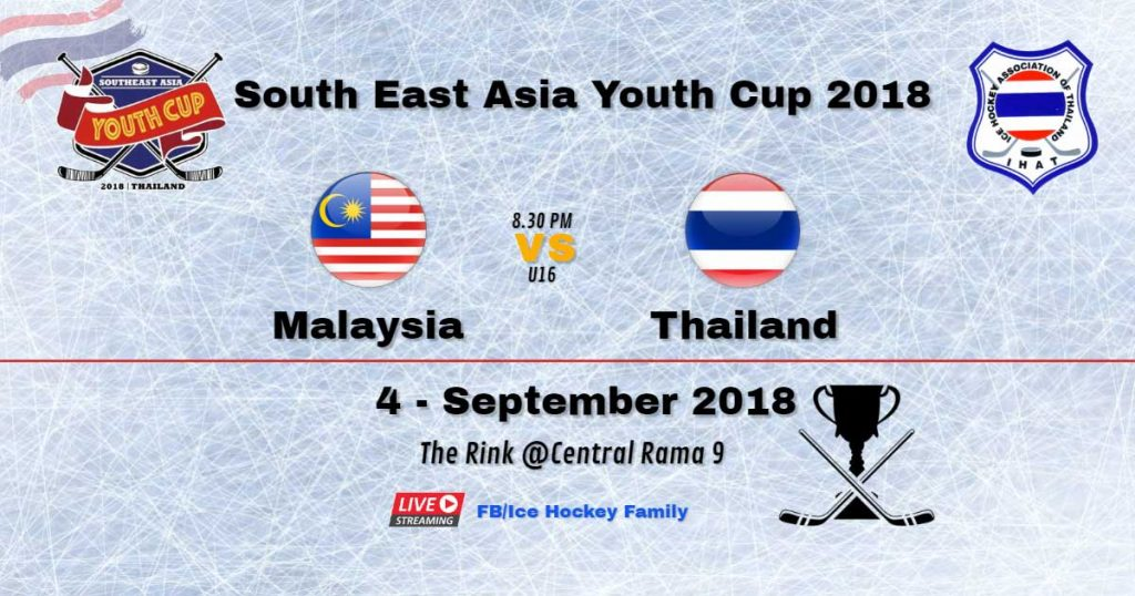 South East Asia Youth Cup 2018  | Malaysia Vs Thailand U16