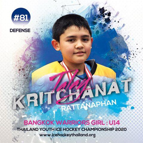 Kritchanat  Rattanaphan