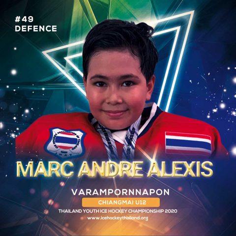 Marc andre Alexis Varampornnapon  Bonnisseau