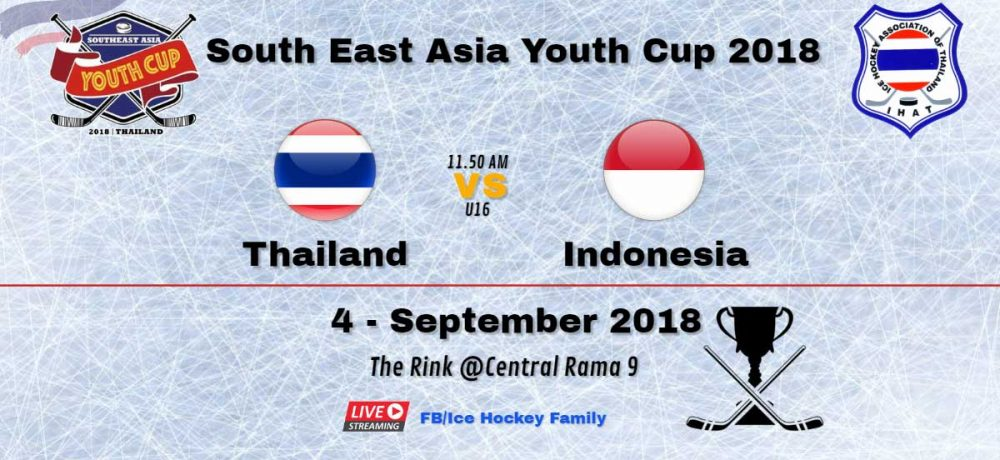 South East Asia Youth Cup 2018 | Thailand Vs️ Indonesia U16
