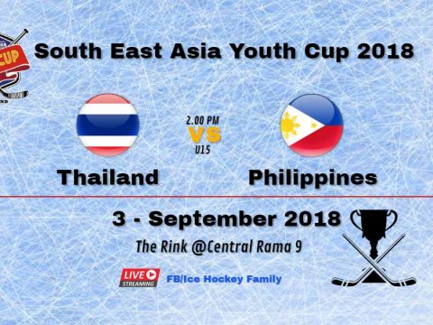 South East Asia Youth Cup 2018 | Thailand Vs ️Philippines U15
