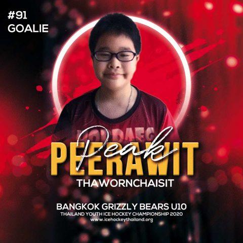 Peerawit  Thawornchaisit