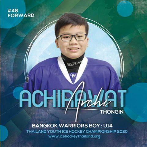 Achirawat  Thongin