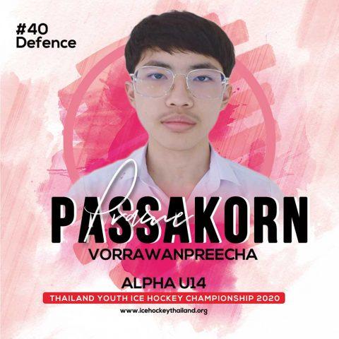 Passakorn  Vorrawanpreecha